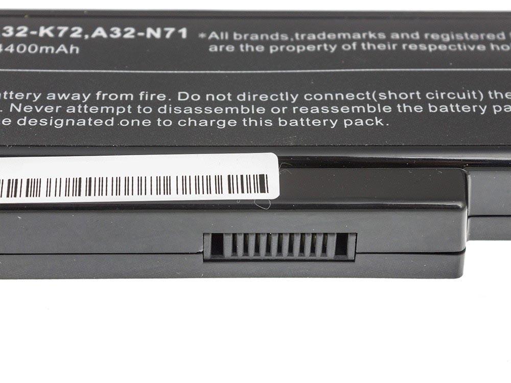 Green Cell Battery for Asus A32-K72 K72 K73 N71 N73 / 11,1V 4400mAh
