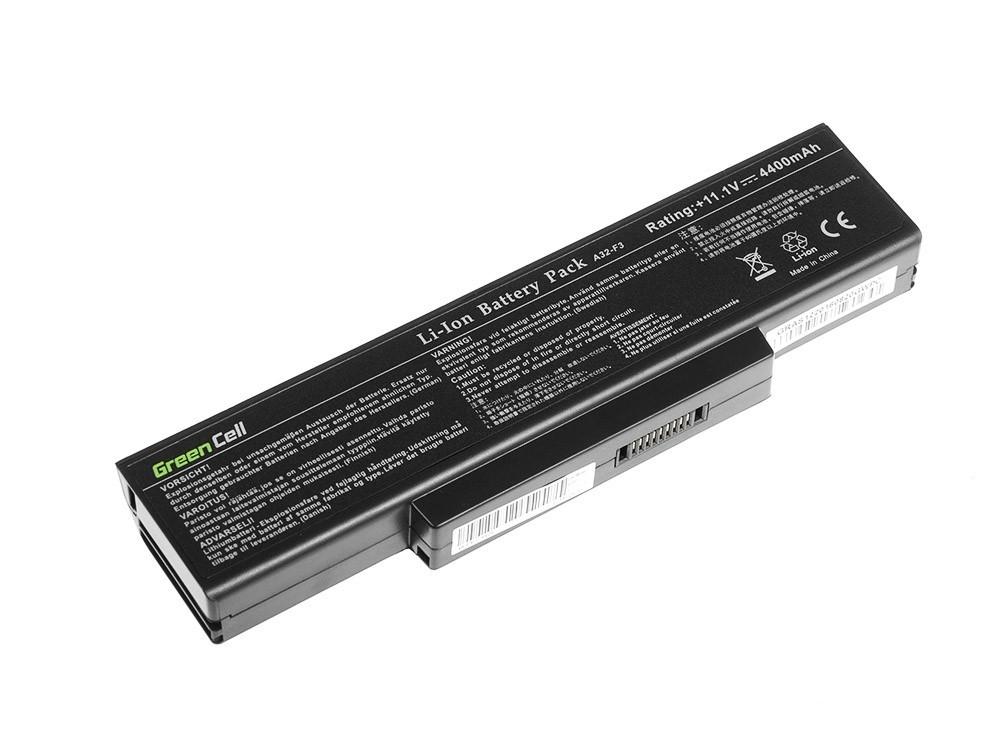 Green Cell Battery for Asus F2 F2J F3 F3S F3E F3F F3K F3SG F7 M51 / 11,1V 4400mAh