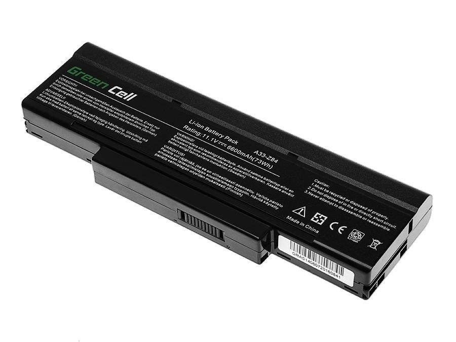 Green Cell Battery for Asus A9 S9 S96 Z62 Z9 Z94 Z96 / 11,1V 6600mAh