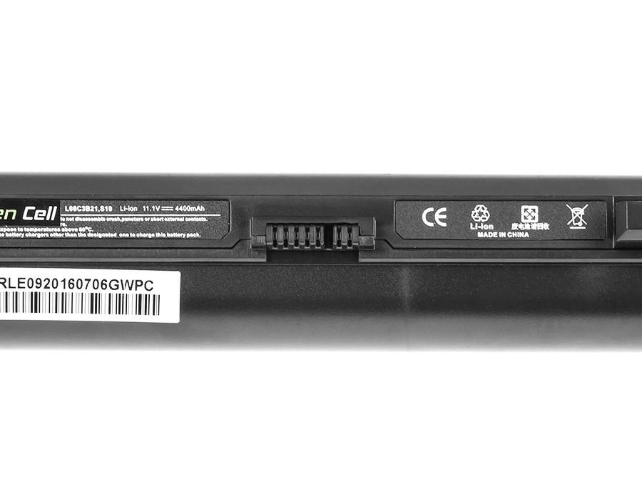 Green Cell Battery for Lenovo IdeaPad S9 S9e S10 S10e S10C S12 (black) / 11,1V 4400mAh