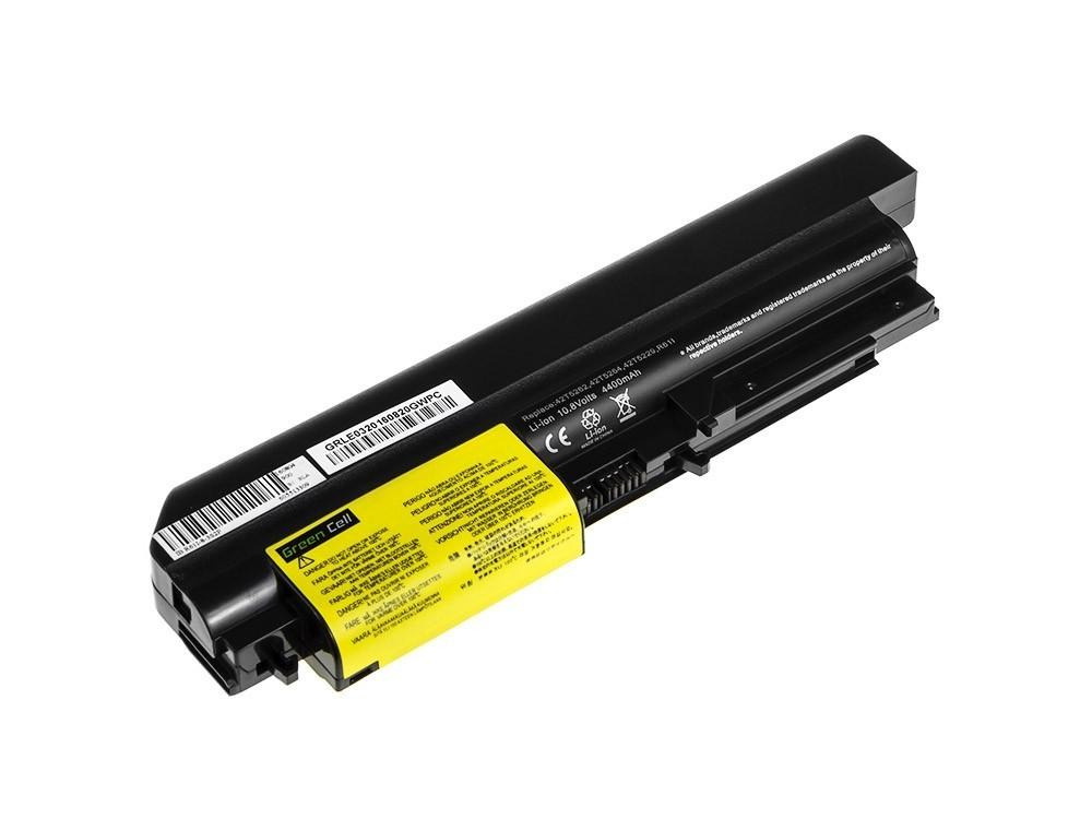 Green Cell Battery for Lenovo ThinkPad R61 T61p R61i R61e R400 T61 T400 / 11,1V 4400mAh