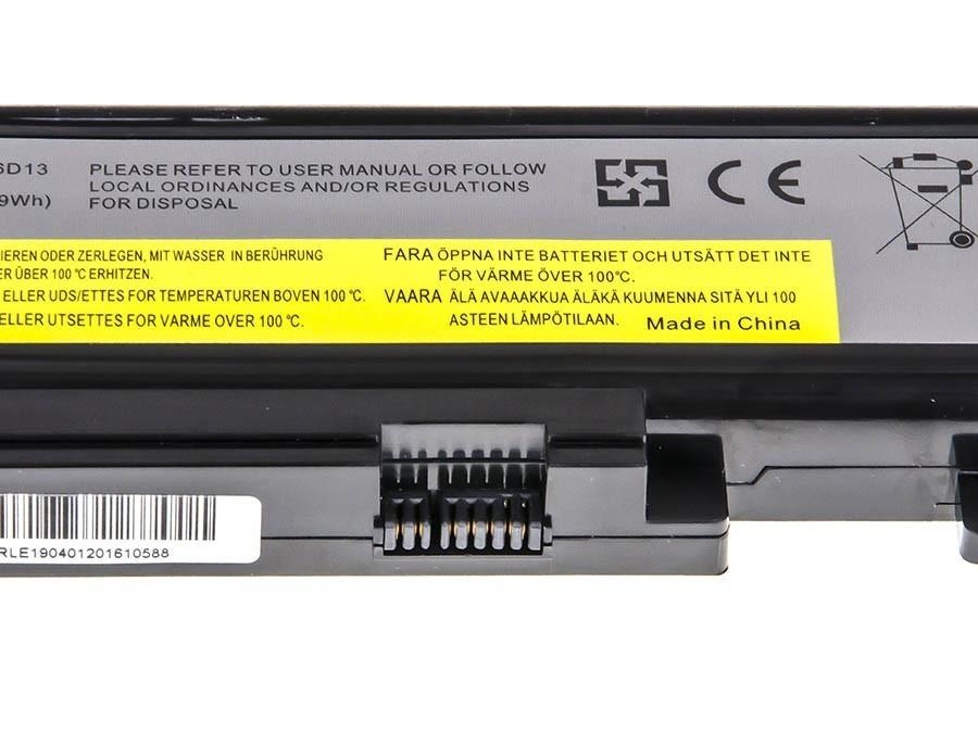 Green Cell Battery for Lenovo IdeaPad Y450 Y450A Y450G Y550 Y550A Y550P / 11,1V 4400mAh