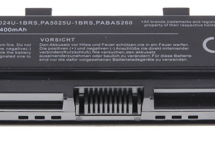Green Cell Battery for Toshiba Satellite C850 C855 C870 L850 L855 PA5024U-1BRS / 11,1V 4400mAh