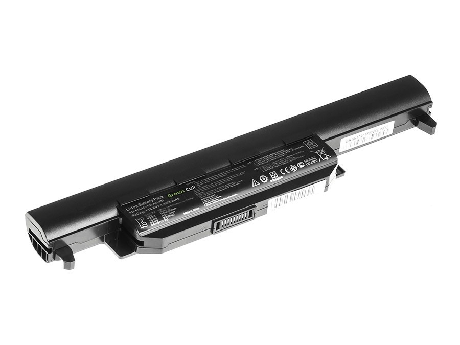 Green Cell Battery for Asus A32-K55 A45 A55 K45 K55 K75 / 11,1V 4400mAh