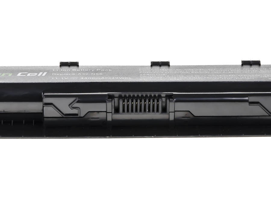 Green Cell Battery for Asus A32-N56 N46 N46V N56 N76 / 11,1V 4400mAh