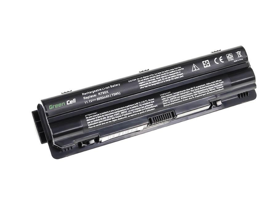 Green Cell Battery for Dell XPS 14 14D 15 15D 17 / 11,1V 6600mAh