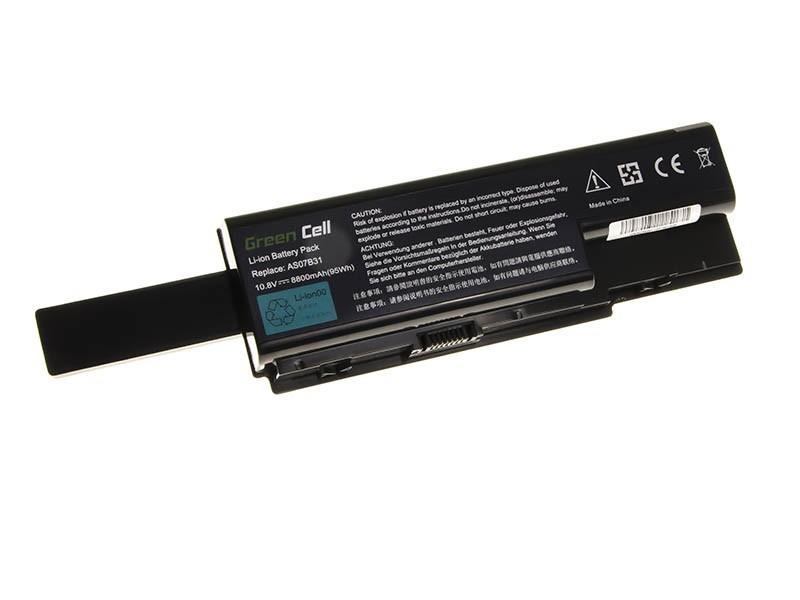 Green Cell Battery for Acer Aspire 5520 AS07B31 AS07B32 / 11,1V 8800mAh