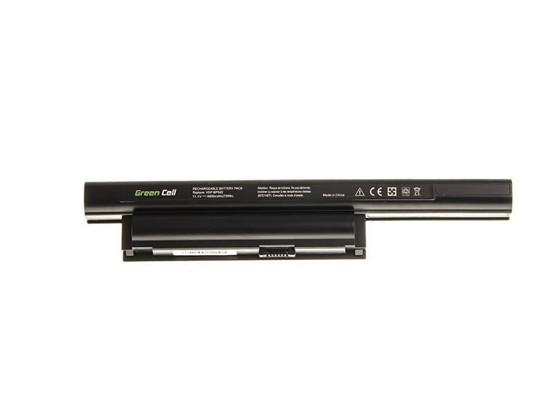 Green Cell Battery for Sony Vaio PCG-71211M PCG-61211M PCG-71212M / 11,1V 6600mAh