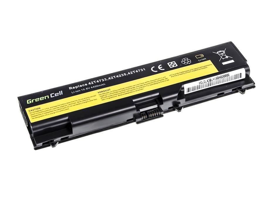 Green Cell Battery for Lenovo ThinkPad L430 L530 T430 T530 W530 / 11,1V 4400mAh