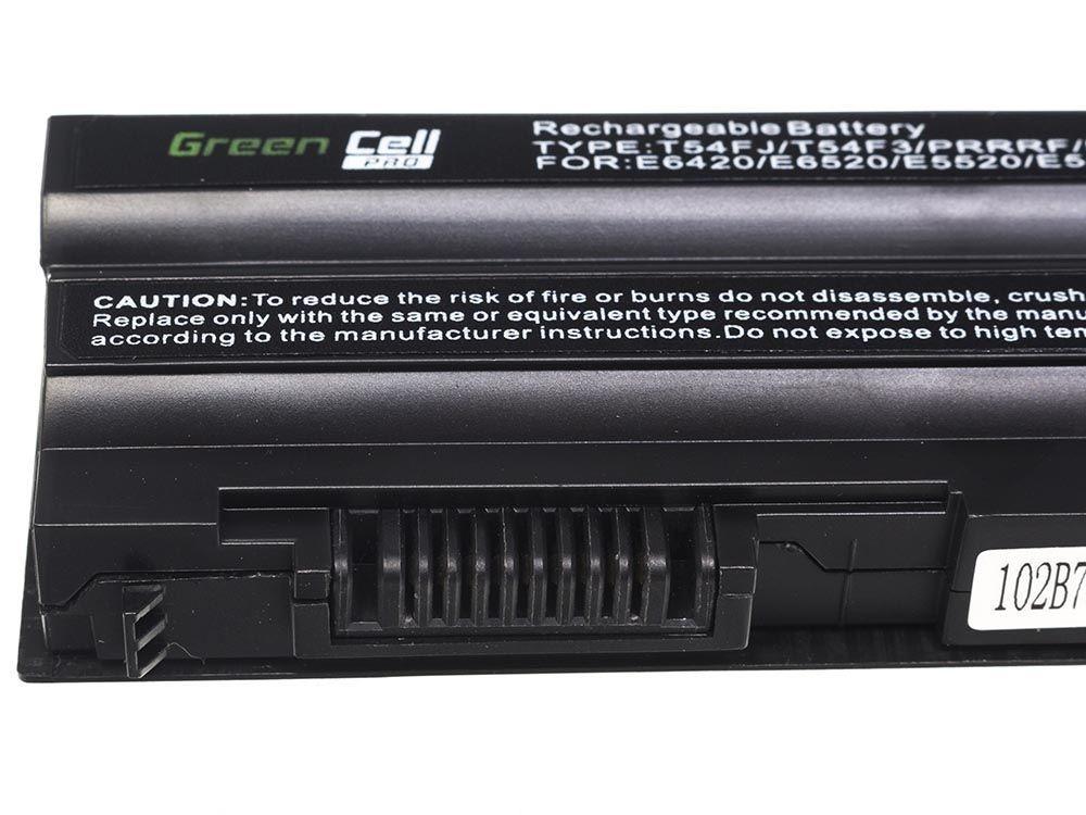 Green Cell PRO Battery for Dell Latitude E5520 E6420 E6520 E6530 / 11,1V 5200mAh