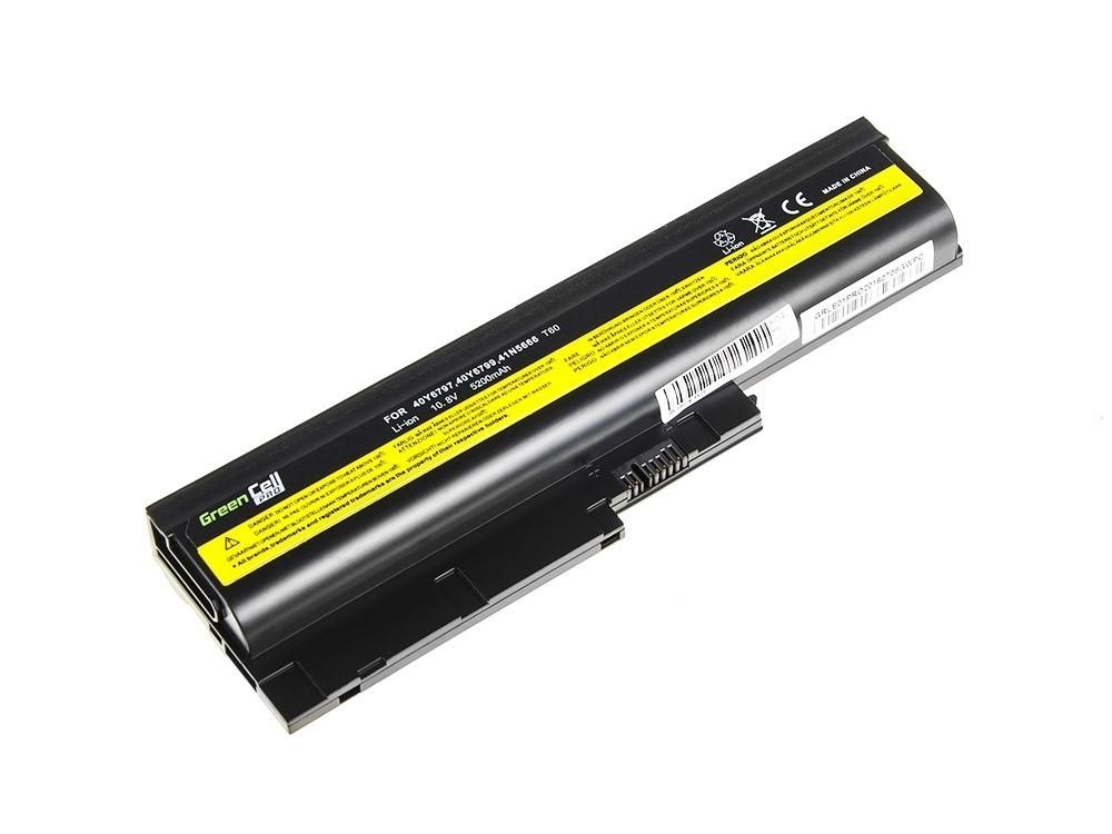 Green Cell PRO Battery for Lenovo ThinkPad T60 T61 R60 R61 / 11,1V 5200mAh