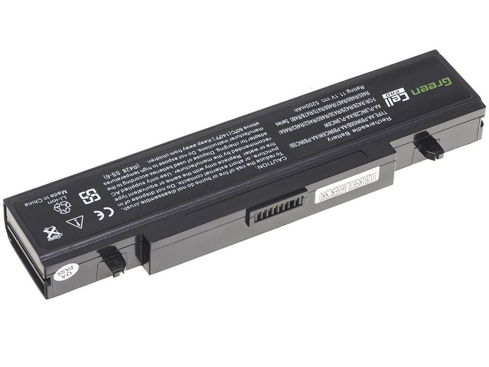 Green Cell PRO Battery for Samsung R519 R522 R530 R540 R580 R620 R719 R780 (black) / 11,1V 5200mAh