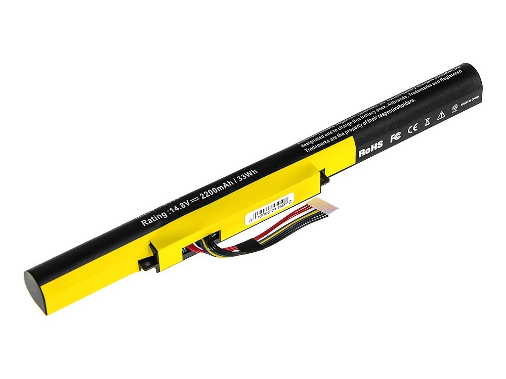 Green Cell Battery for Lenovo IdeaPad P500 Z510 P400 / 14,4V 2200mAh