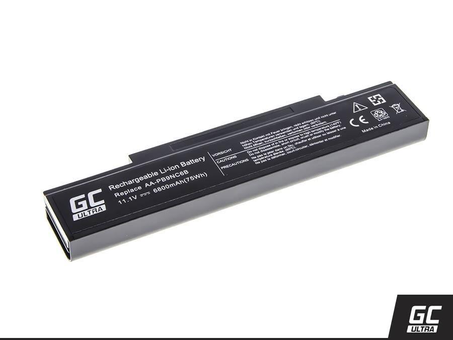 Green Cell ULTRA Battery for Samsung R519 R522 R530 R540 R580 R620 R719 R780 (black) / 11,1V 6800mAh