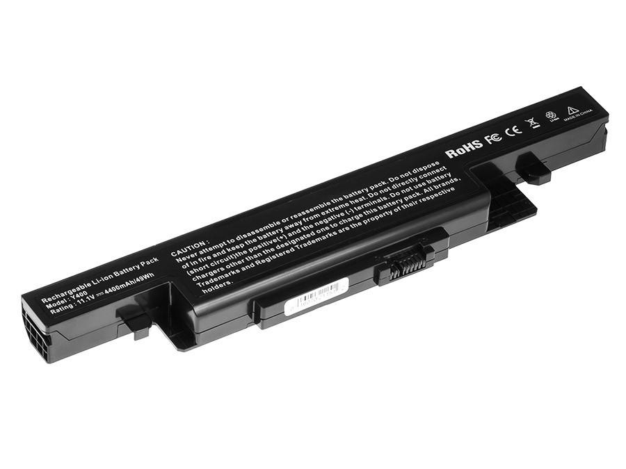 Green Cell Battery for Lenovo IdeaPad Y400 Y410 Y490 Y500 Y510 Y590 / 11,1V 4400mAh
