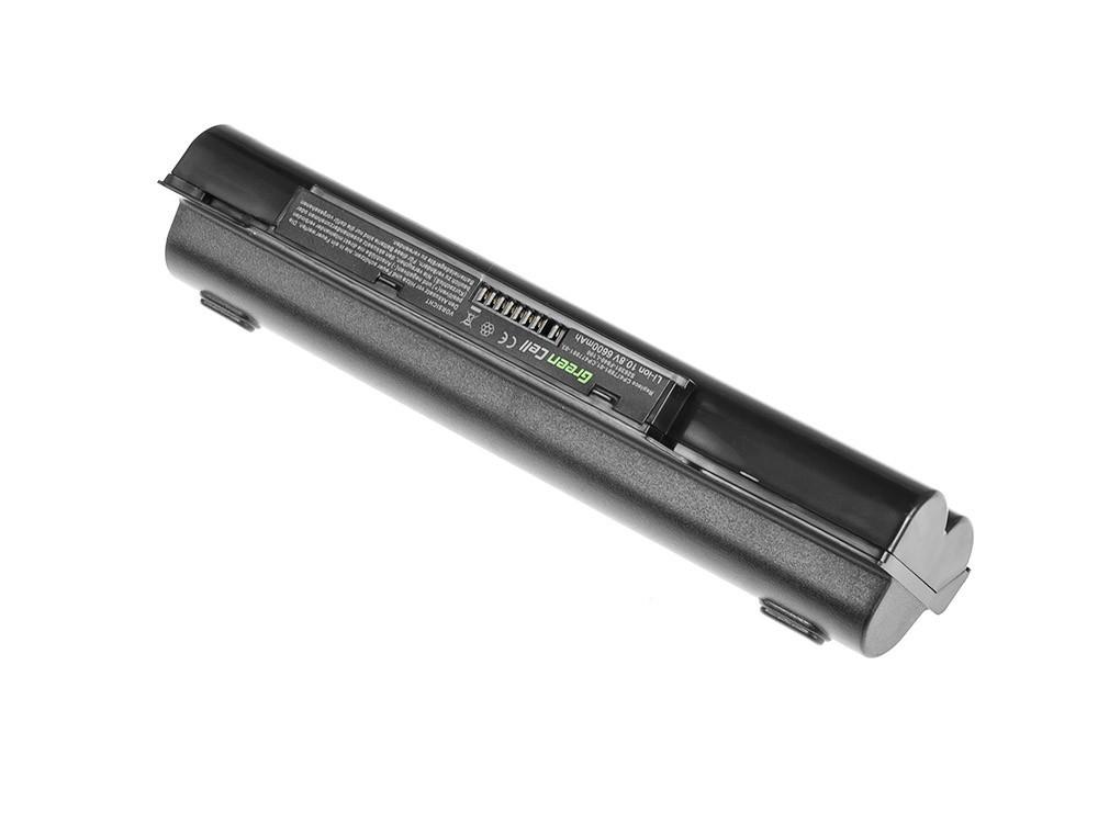 Green Cell Battery for Fujitsu-Siemens LifeBook A530 A531 AH530 AH531 / 11,1V 6600mAh