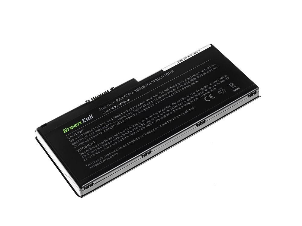 Green Cell PRO Battery for Toshiba Qosmio X500 X505 Satellite P500 P505 P505D / 11,1V 4400mAh