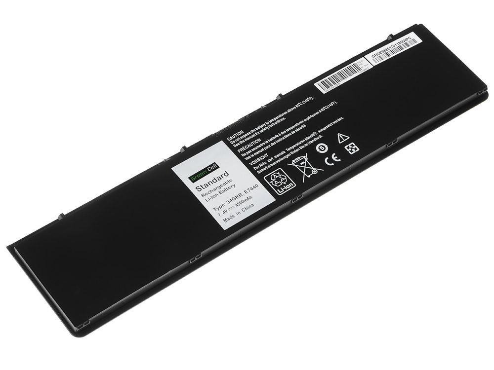 Green Cell Battery for Dell Latitude E7440 / 7,4V 4500mAh