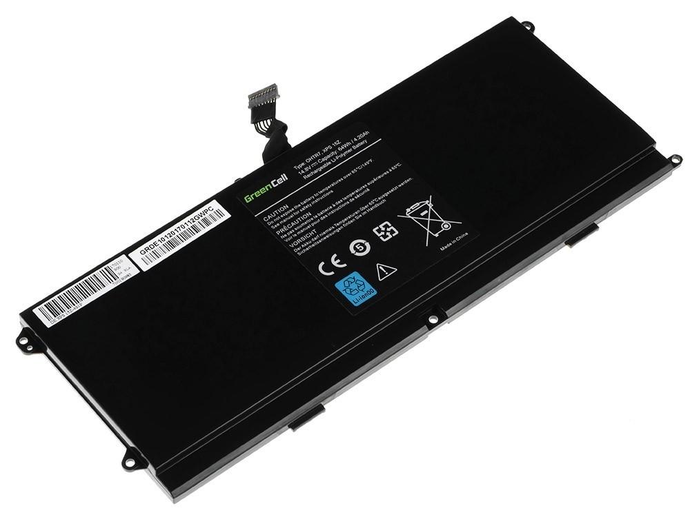 Green Cell Battery for Dell XPS 15Z L511Z / 14,4V 3600mAh