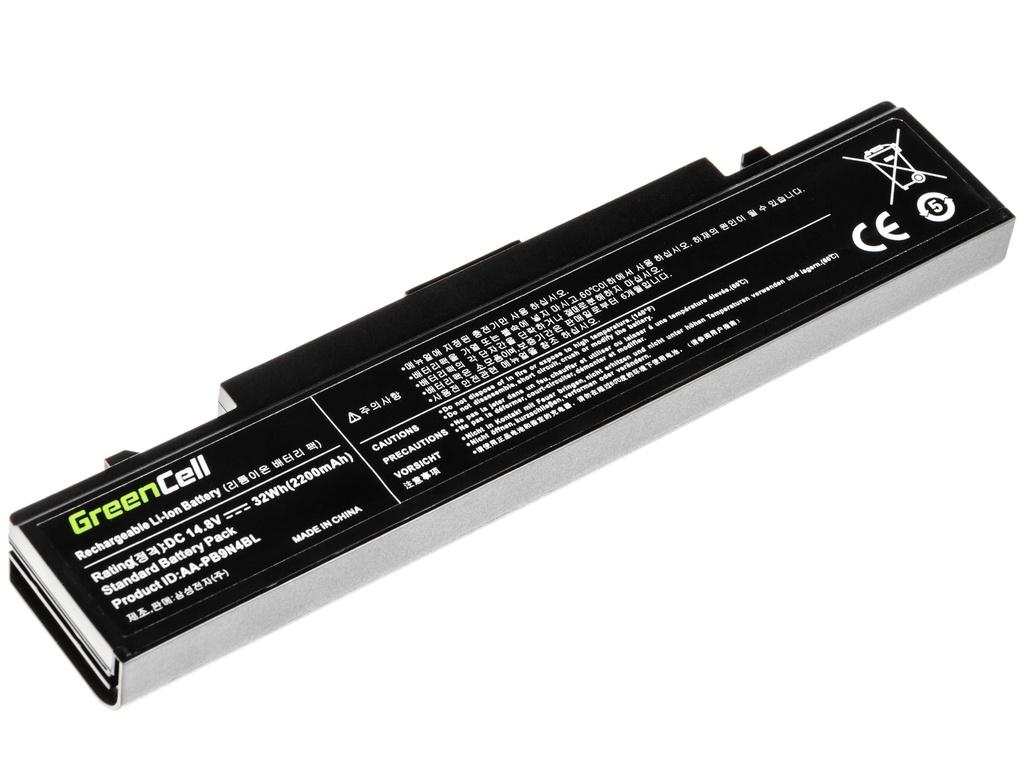 Green Cell Battery for Samsung RV408 RV409 RV410 RV411 RV415 / 14,4V 2200mAh