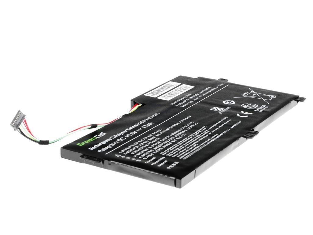 Green Cell Battery for Samsung 370R 370R5E NP370R5E NP450R5E NP470R5E NP510R5E / 11,1V 3400mAh