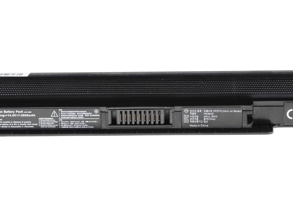 Green Cell PRO Battery for Asus A32-K56 A46 A56 K46 K56 S56 / 14,4V 2600mAh
