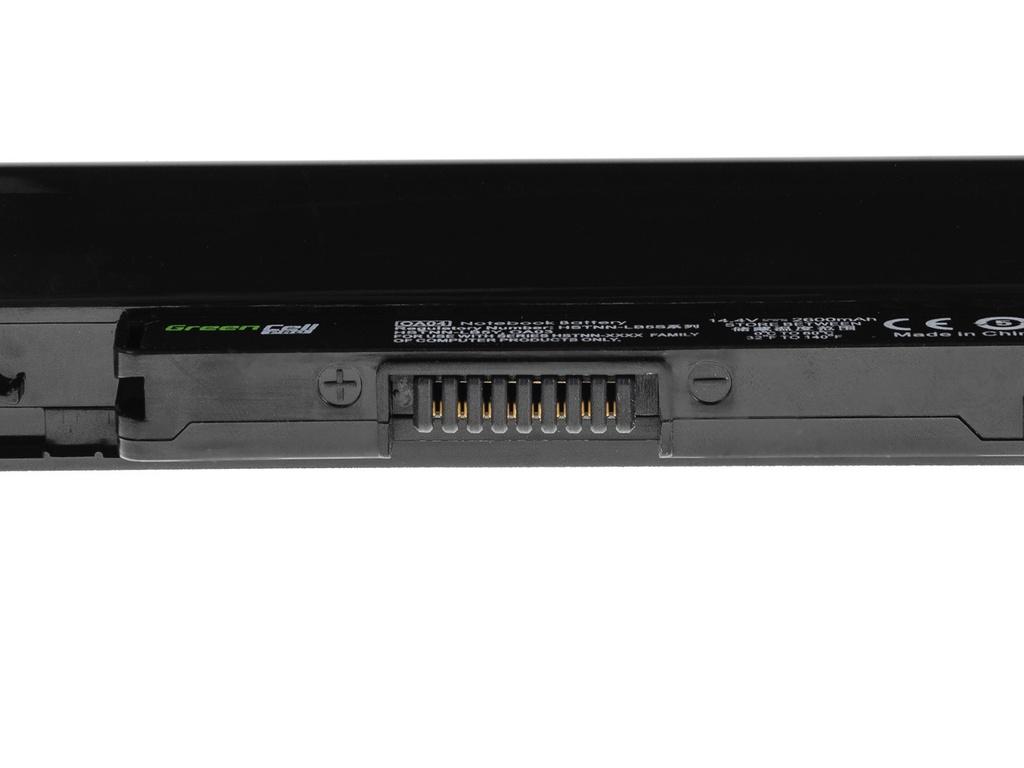 Green Cell PRO Battery for HP HSTNN-LB5S 240 250 255 256 G2 G3 OA04 / 14,4V 2600mAh