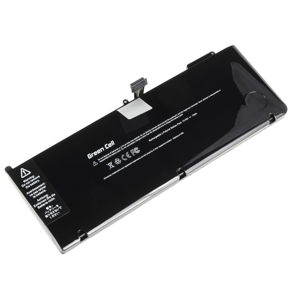 Green Cell PRO Battery for Apple Macbook Pro 15 A1286 2011-2012 / 10,95V 6700mAh