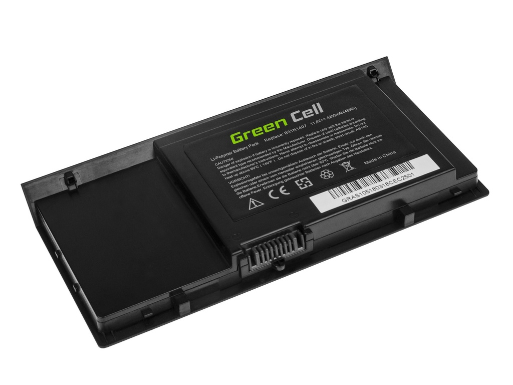 Green Cell Battery for AsusPRO Advanced B451 B451J B451JA / 11,4V 4200mAh