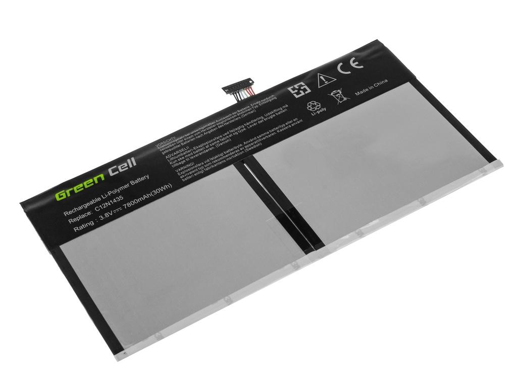 Green Cell Battery for Asus Transformer Book T100H T100HA / 3,8V 7800mAh