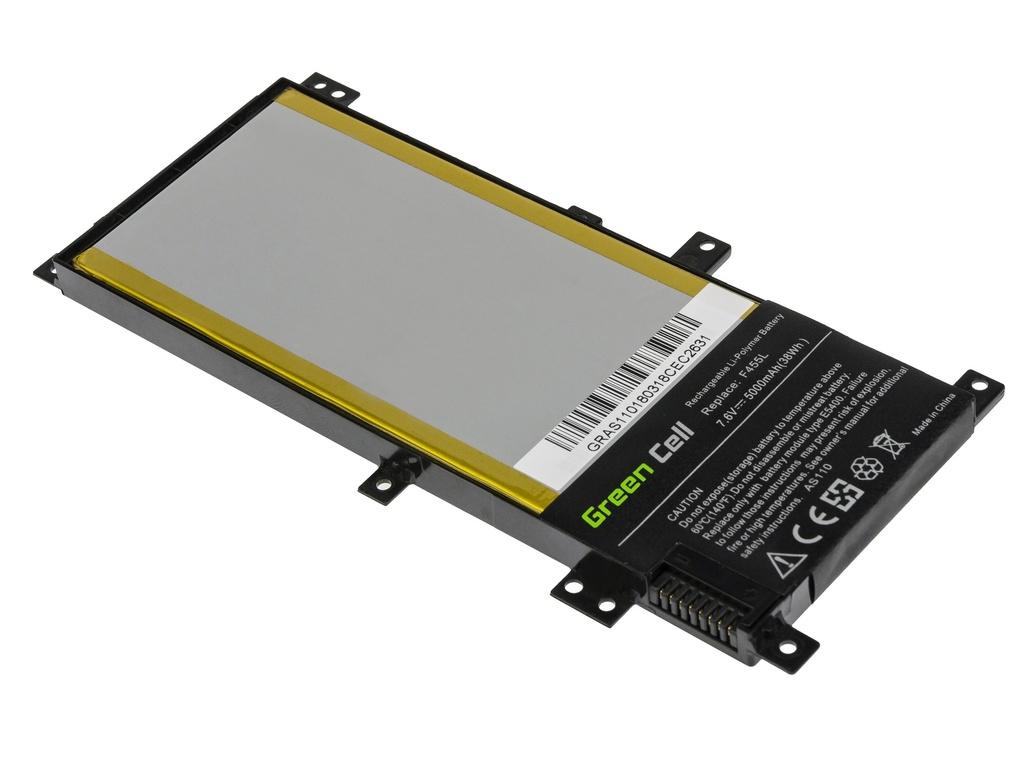 Green Cell Battery for Asus F455L K455L R455L X455L / 7,6V 5000mAh