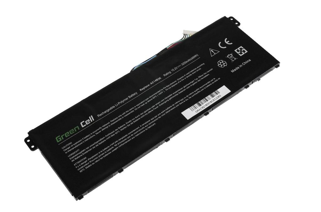Green Cell Battery for Acer Aspire 5 A515 A517 E15 ES1-512 ES1-533 / 15,2V 3000mAh