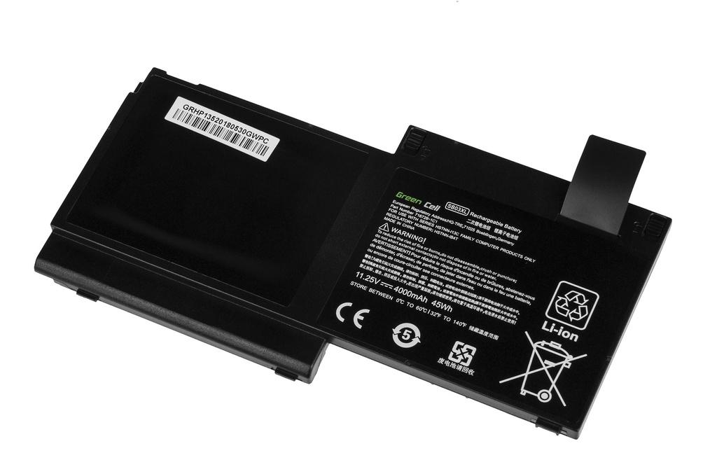Green Cell Battery for HP EliteBook 720 G1 G2 820 G1 G2 / 11,25V 4000mAh