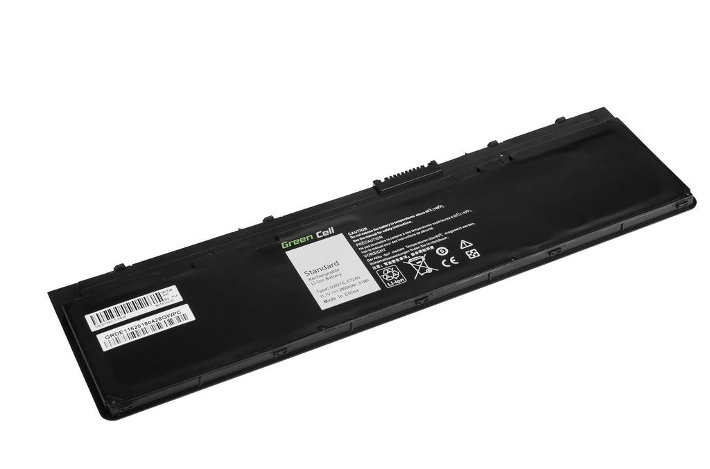 Green Cell Battery for Dell Latitude E7240 E7250 / 11,1V 2600mAh