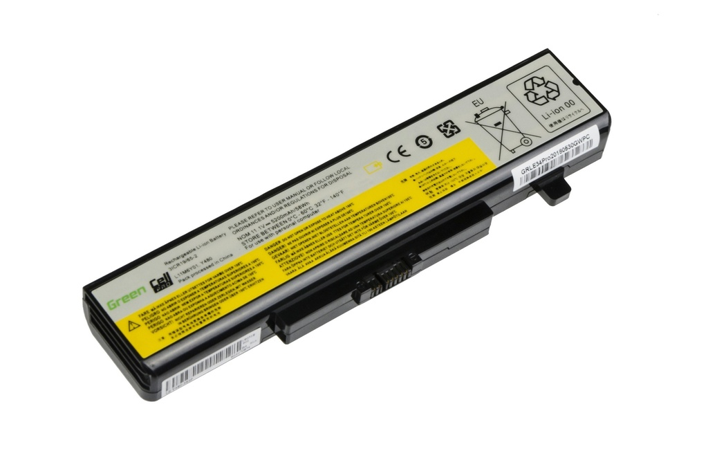 Green Cell PRO Battery for Lenovo Y480 V480 Y580 / 11,1V 5200mAh