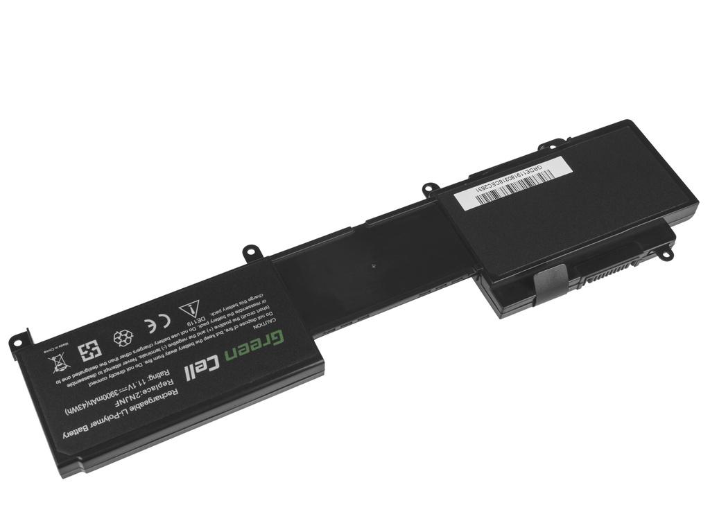 Green Cell Battery for Dell Inspiron 14z 5423 15z 5523 2NJNF / 11,1V 3900mAh