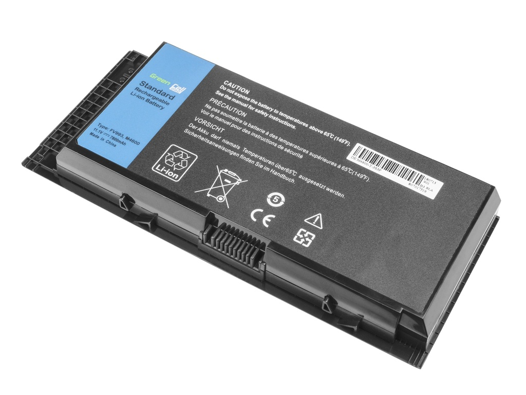 Green Cell PRO Battery for Dell Precision M4600 M4700 M4800 M6600 M6700 / 11,1V 7800mAh