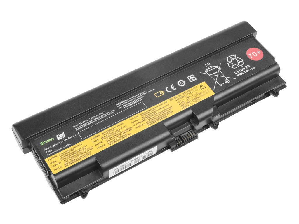 Green Cell PRO Battery for Lenovo ThinkPad L430 L530 T430 T530 W530 / 11,1V 7800mAh