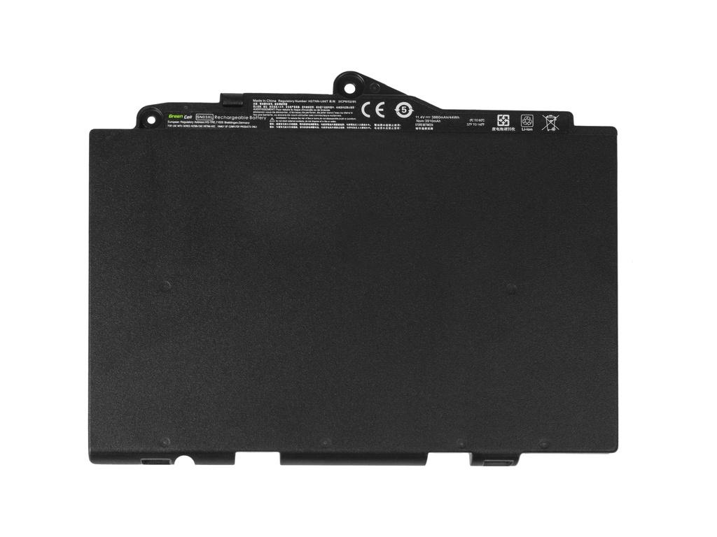 Green Cell Battery for HP EliteBook 725 G3 820 G3 / 11,4V 2800mAh