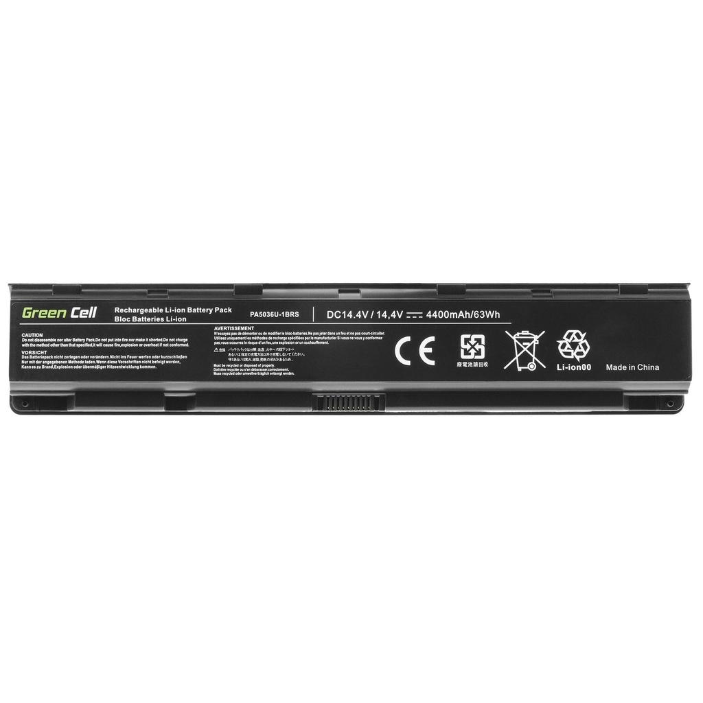 Green Cell Battery PA5036U-1BRS PABAS264 for Toshiba Qosmio X70 X70-A X75 X870 X875