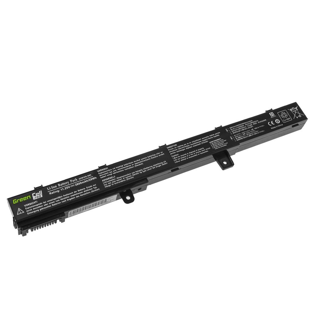 Green Cell PRO Battery A31N1319 for Asus X551 X551C X551CA X551M X551MA X551MAV F551 F551C F551M R512C R512CA R553L