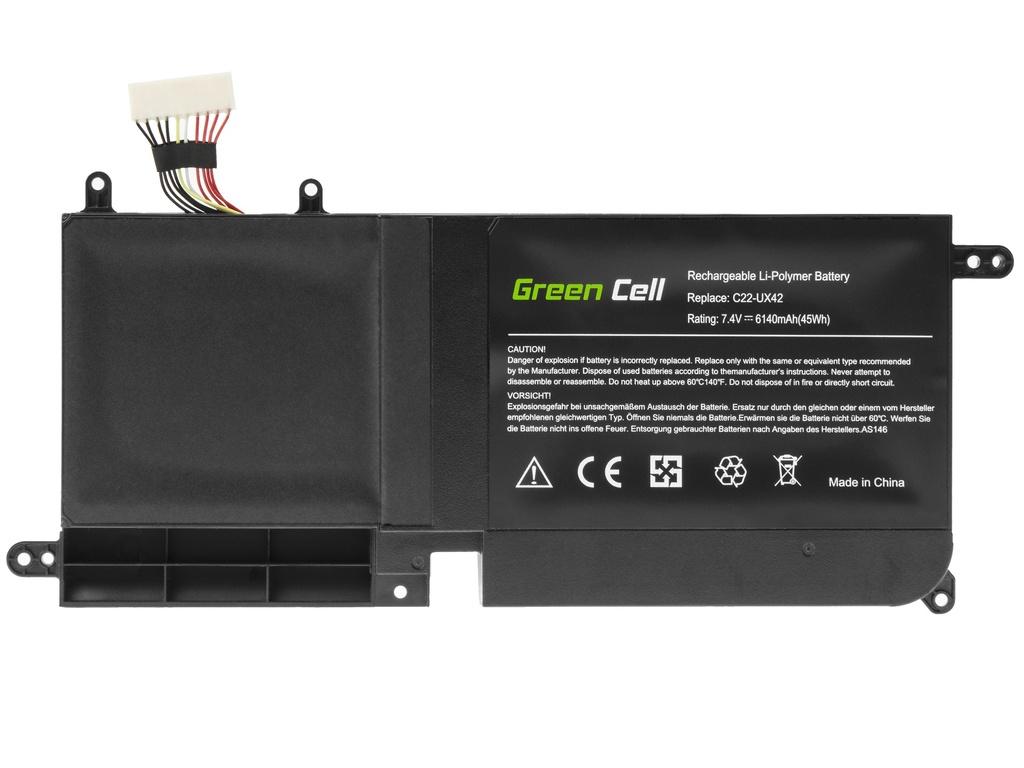 Green Cell Battery C22-UX42 for Asus ZenBook UX42 UX42V UX42VS