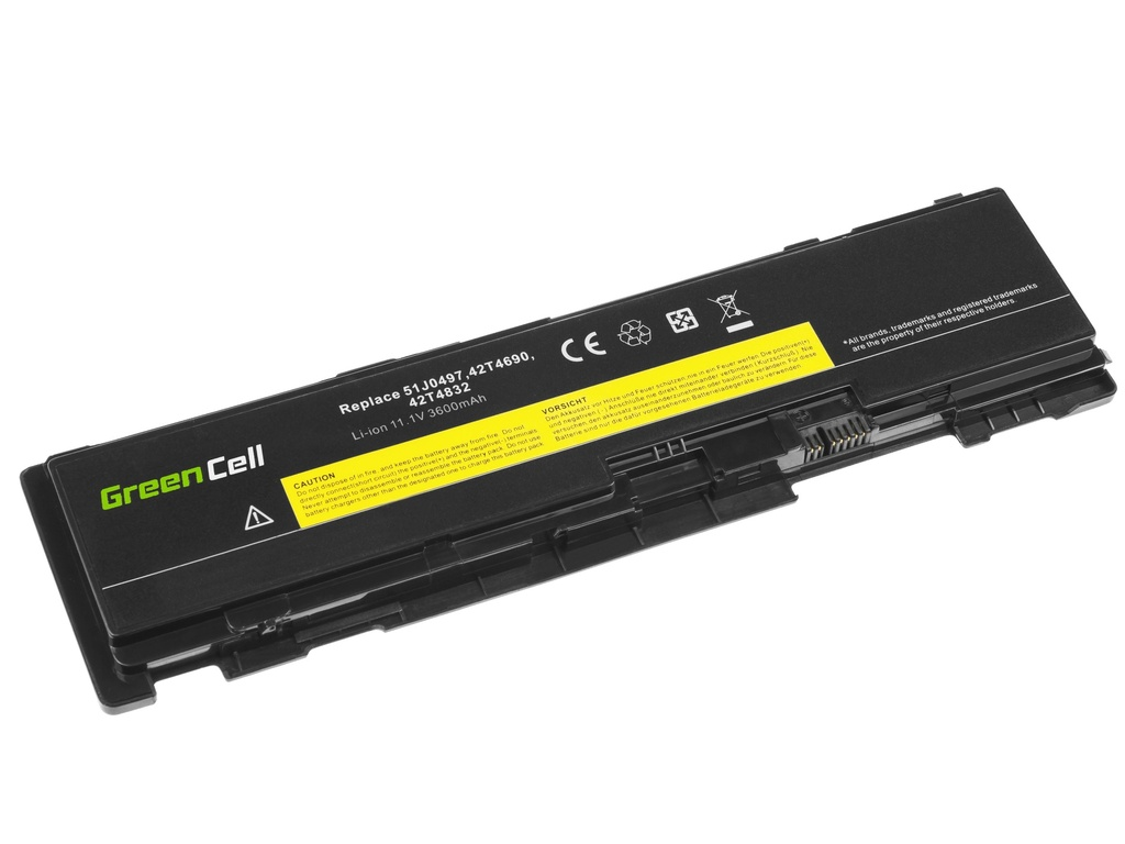 Laptop Battery Green Cell for Lenovo ThinkPad T400s T410s T410si