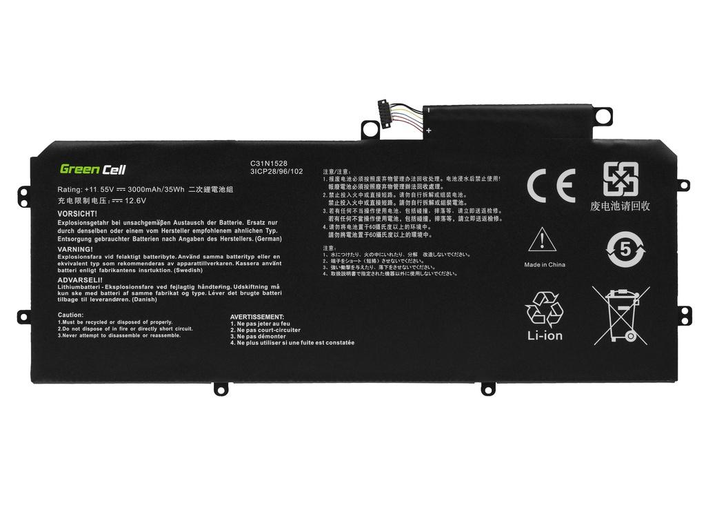 Green Cell battery C31N1528 for Asus ZenBook Flip UX360C UX360CA 2900mAh