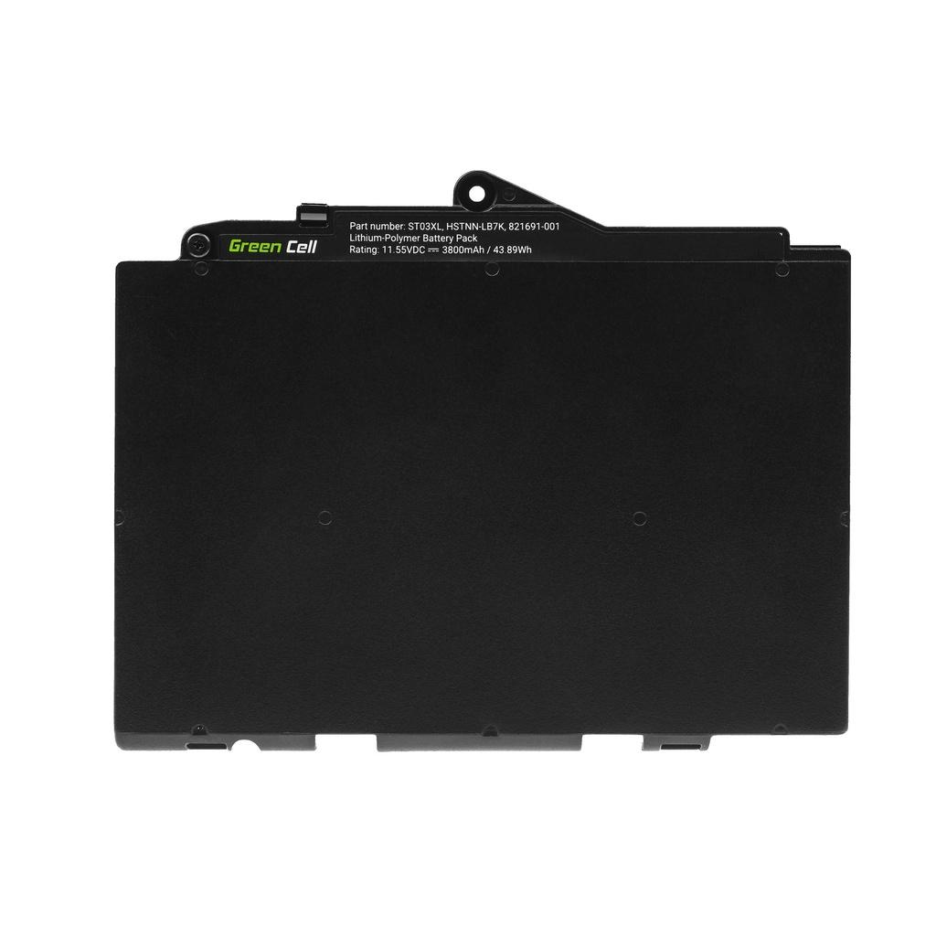 Battery Green Cell ST03XL for HP EliteBook 725 G4 820 G4