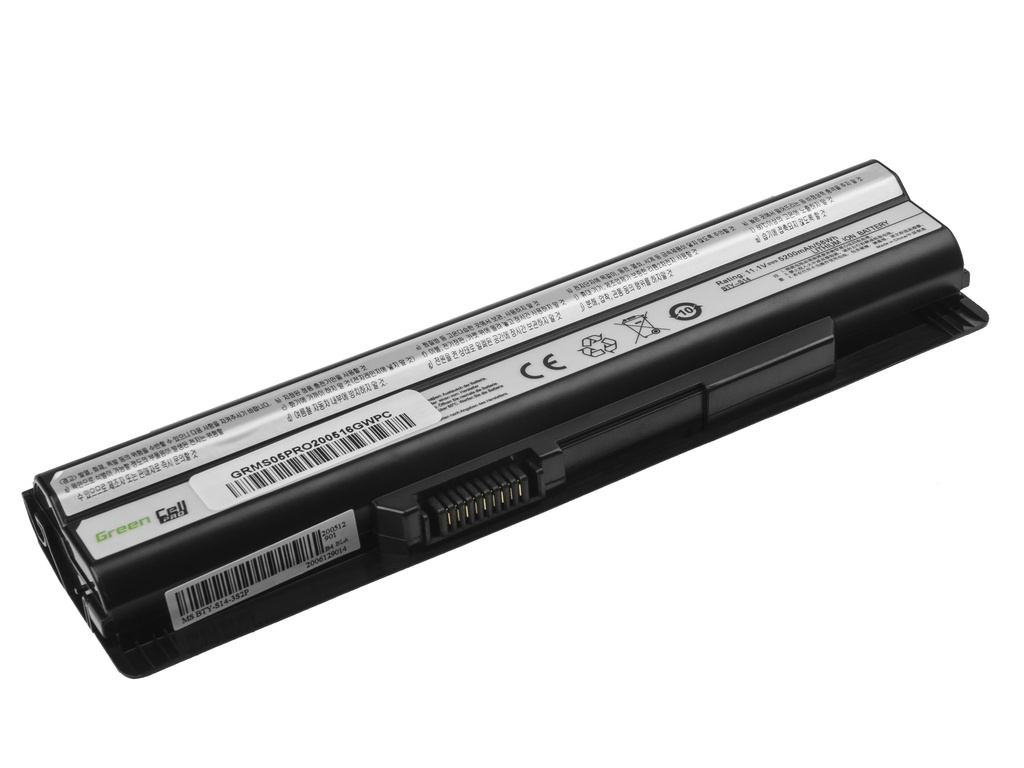 Laptop Battery Green Cell PRO BTY-S14 BTY-S15 for MSI CR650 CX650 FX400 FX600 FX700 GE60 GE70 GP60 GP70 GE620