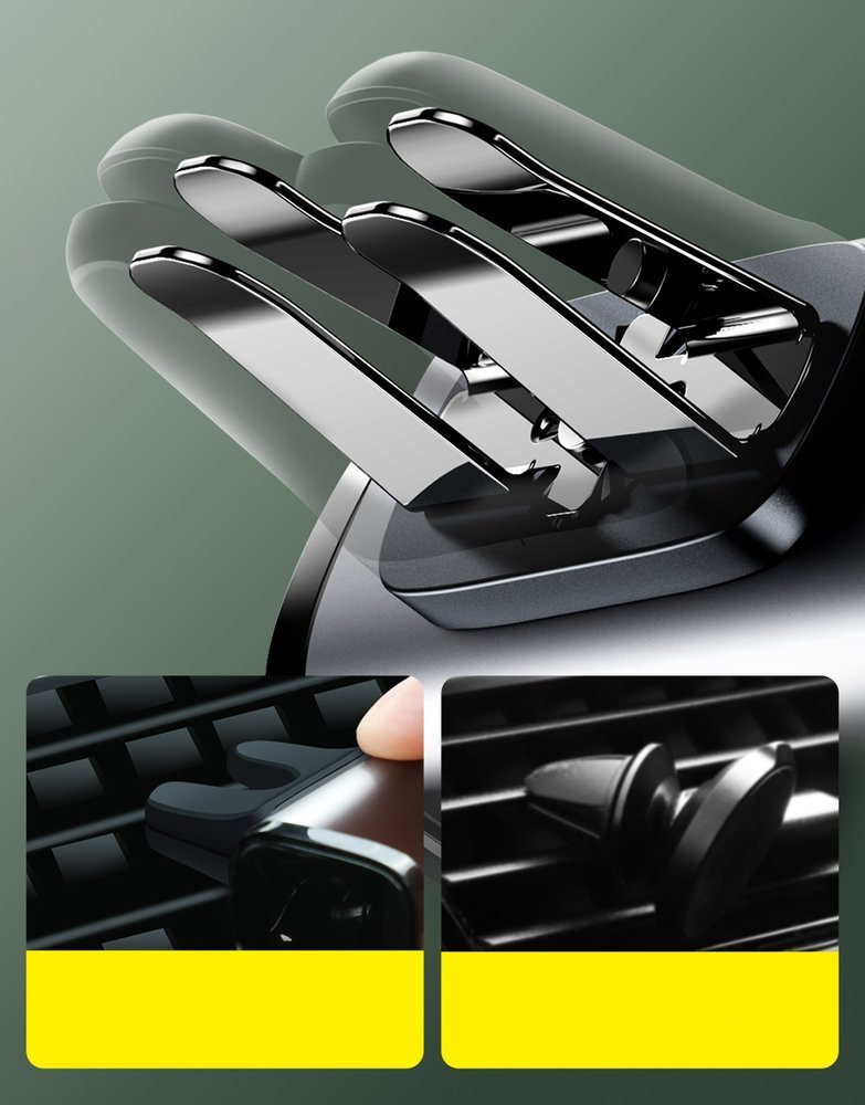 Baseus Steel Cannon Air Outlet Car Mount black (SUGP-01)