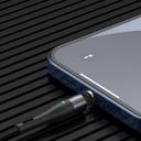 Baseus Zinc USB - Lightning magnetic data charging cable 1 m 2,4 A black and gray (CALXC-KG1)