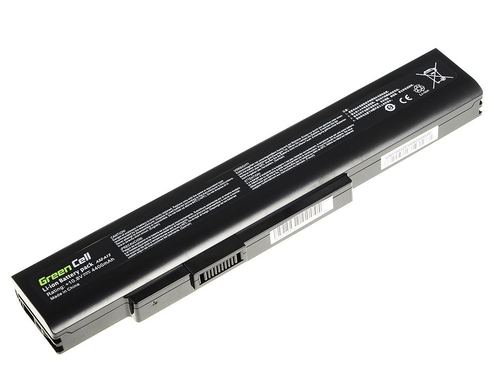 Green Cell Battery for MSI A6400 CR640 CX640 MS-16Y1 / 11,1V 4400mAh