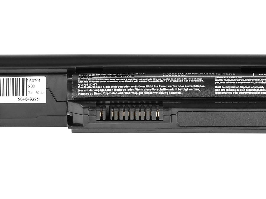 Green Cell PRO Battery for Toshiba Satellite Pro R850, Tecra R850 R950 PA3905U-1BRS / 11,1V 4400mAh